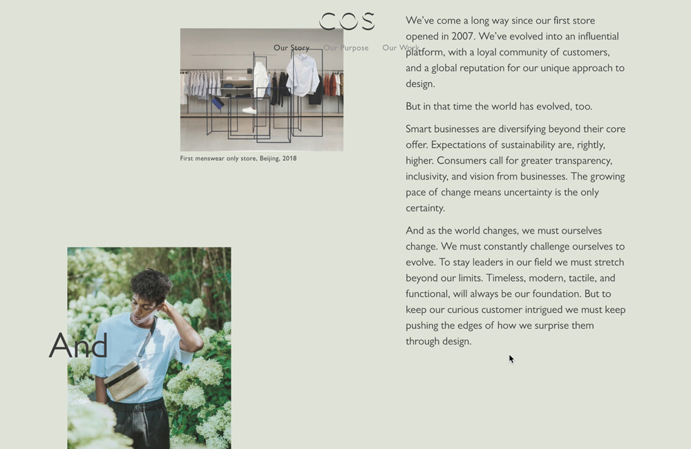 The World of COS